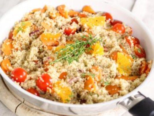 plat de quinoa